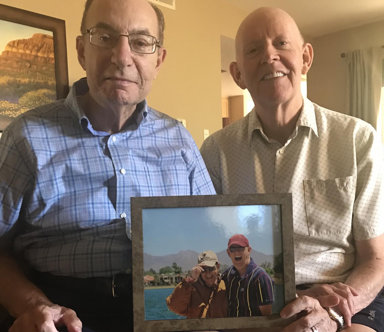 Bill Sabatino (left) and Dean Taylor