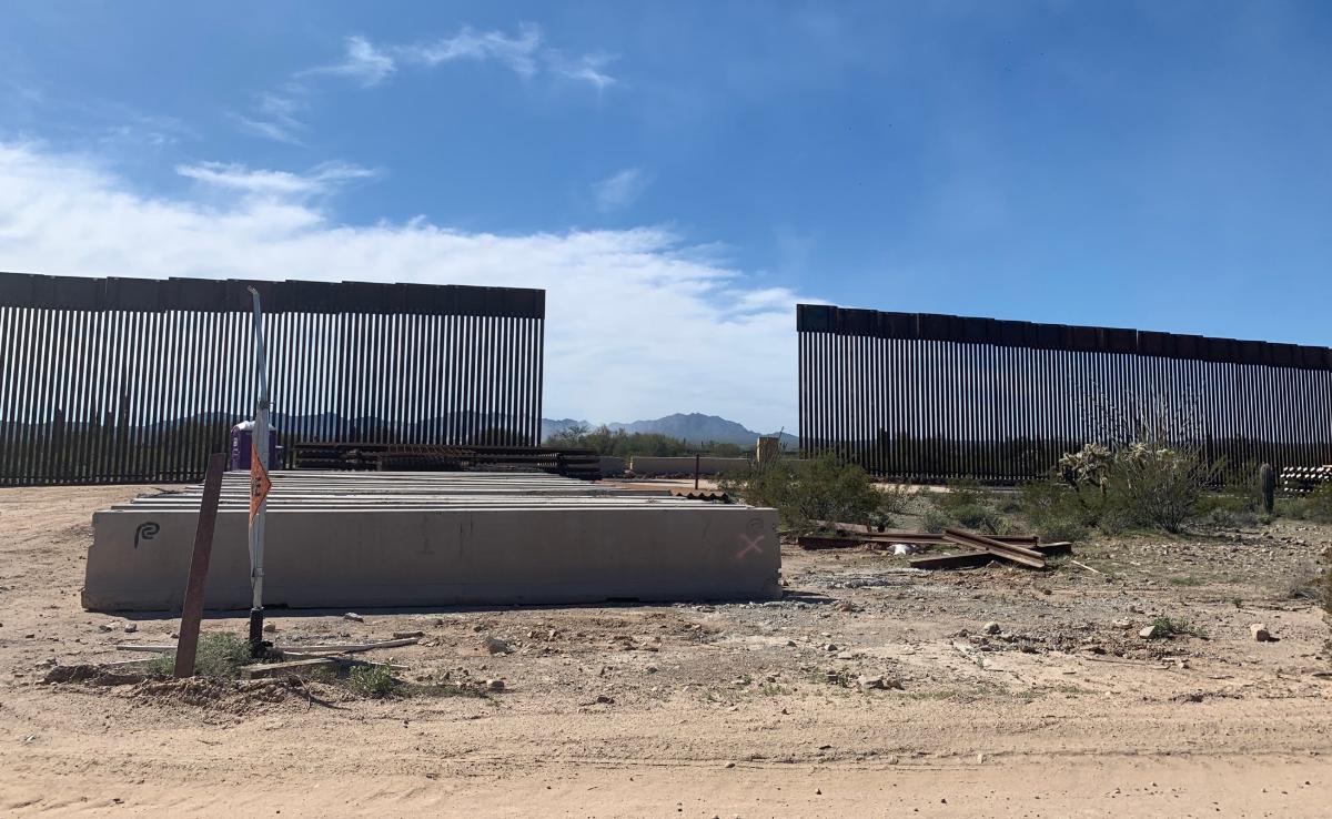 New border fence
