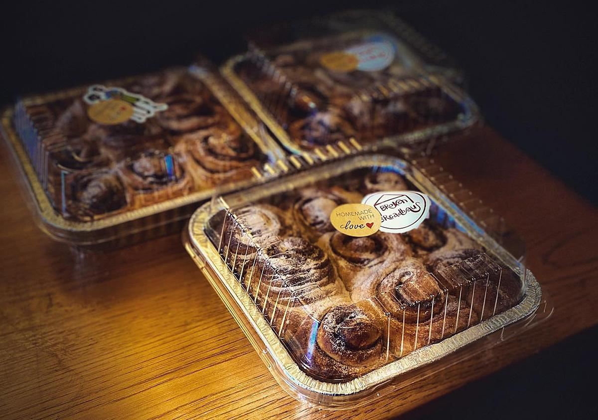 Cinnamon Rolls from Broken Breadhaus