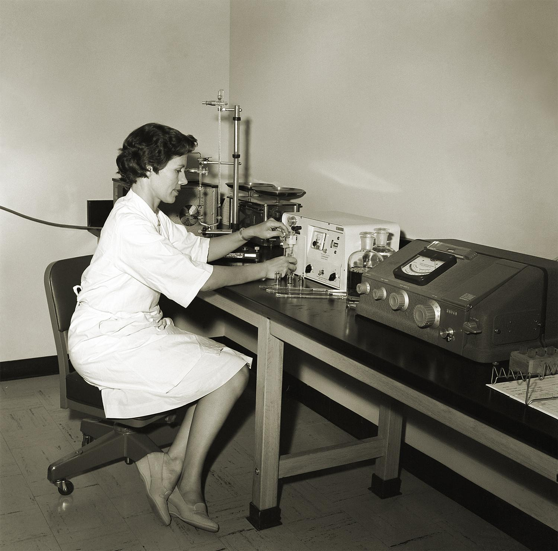 CDC field station Phoenix 1964