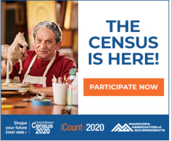 An example of a census ad