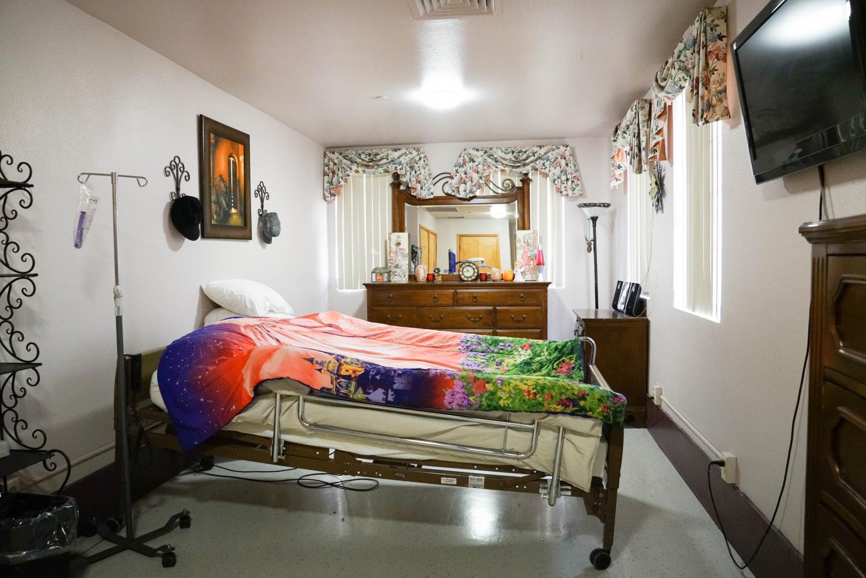 bedroom at the Arizona Training Program