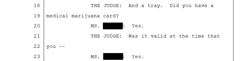 Court document clip