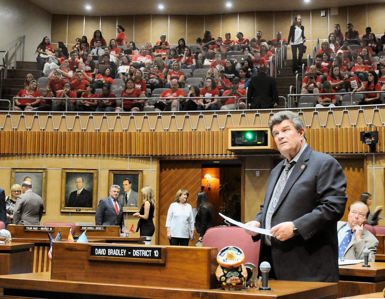 Arizona Senate Minority Leader David Bradley