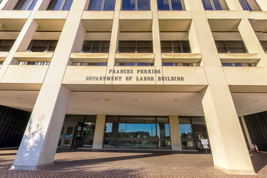 us department of labor building