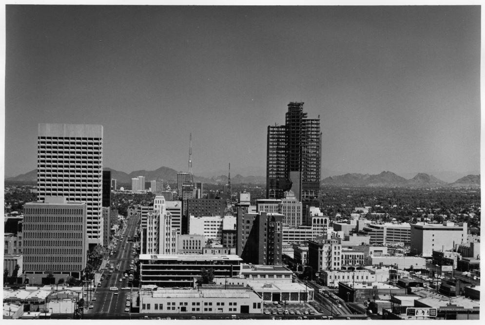 Downtown Phoenix, circa 1971