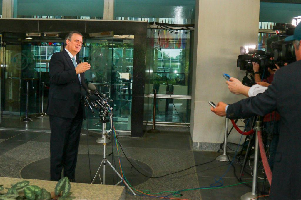 Mexican Foreign Relations Secretary Marcelo Ebrard