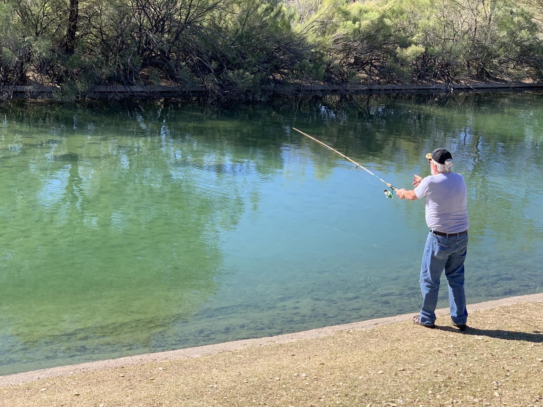 Family Fishing Fun event