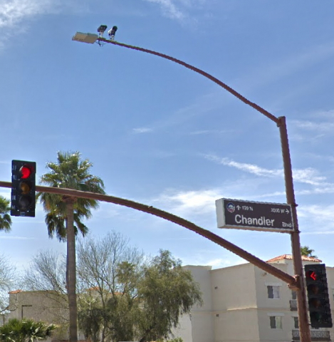 a Chandler intersection