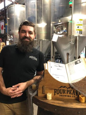 Carter Nacke Four Peaks Brewing Company Haunted
