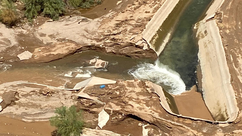Gila Bend flooding