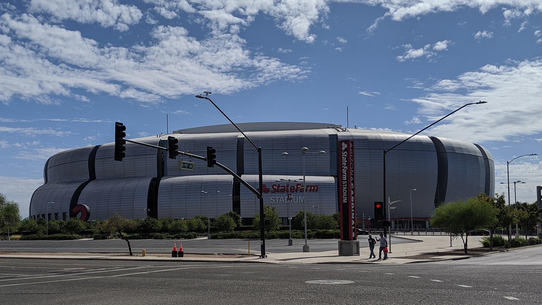 State Farm Stadium in Glendale