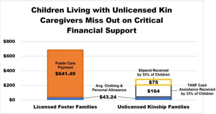 Arizona Department of Child Safety graph