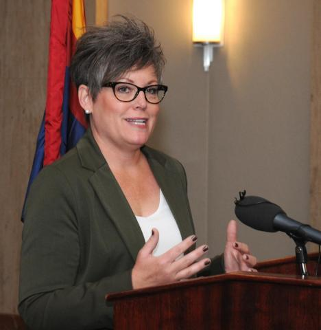 Secretary of State-elect Katie Hobbs