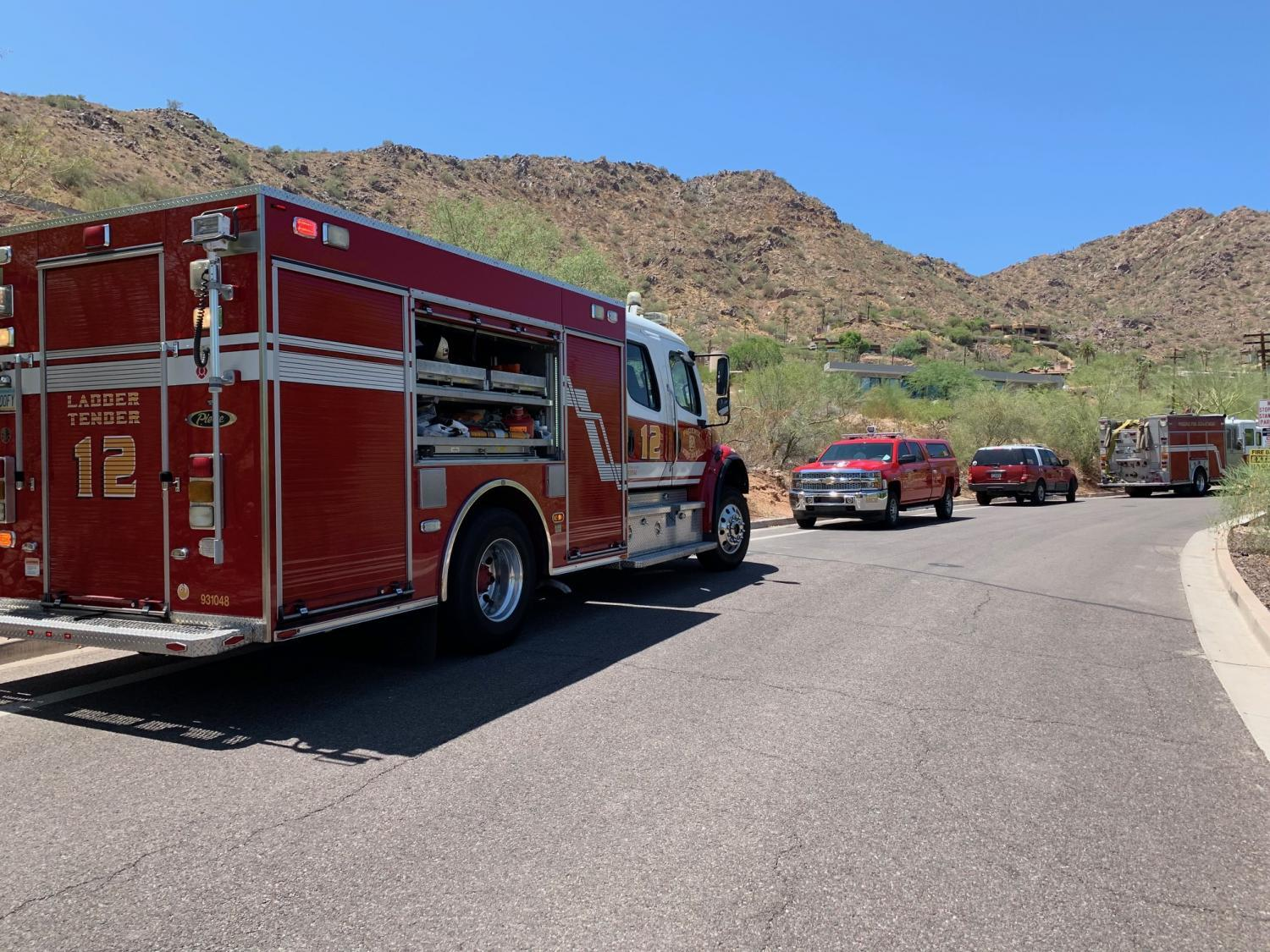 Camelback Mountain rescue