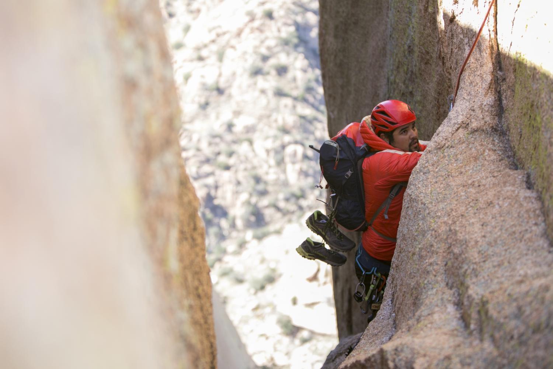 Len Necefer, Climbing, NativesOutdoors, Navajo