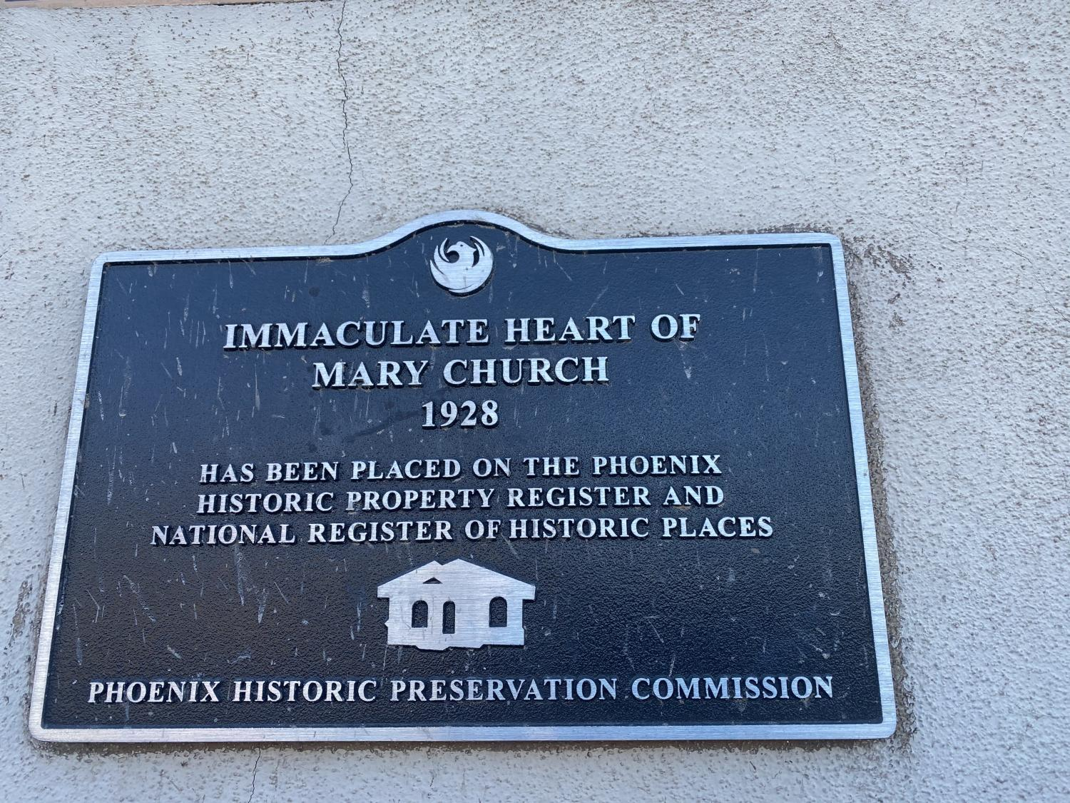 Immaculate Heart dedication