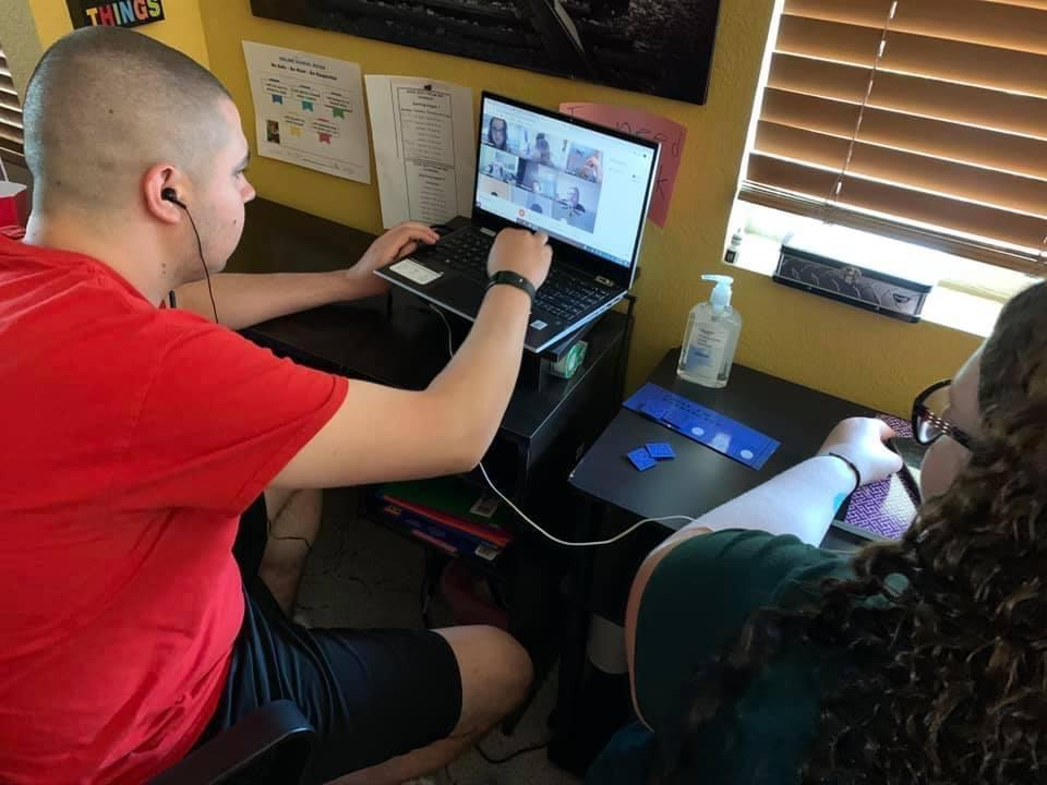 Jordan Wright is a 20-year-old student with autism. He recently completed his seventh and final year at Mountain Pointe High School in Phoenix.