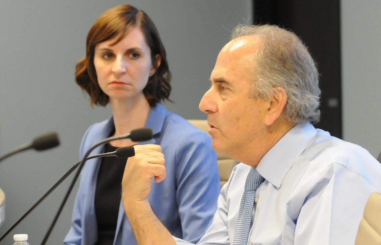 Luke Narducci and Kathy Hoffman