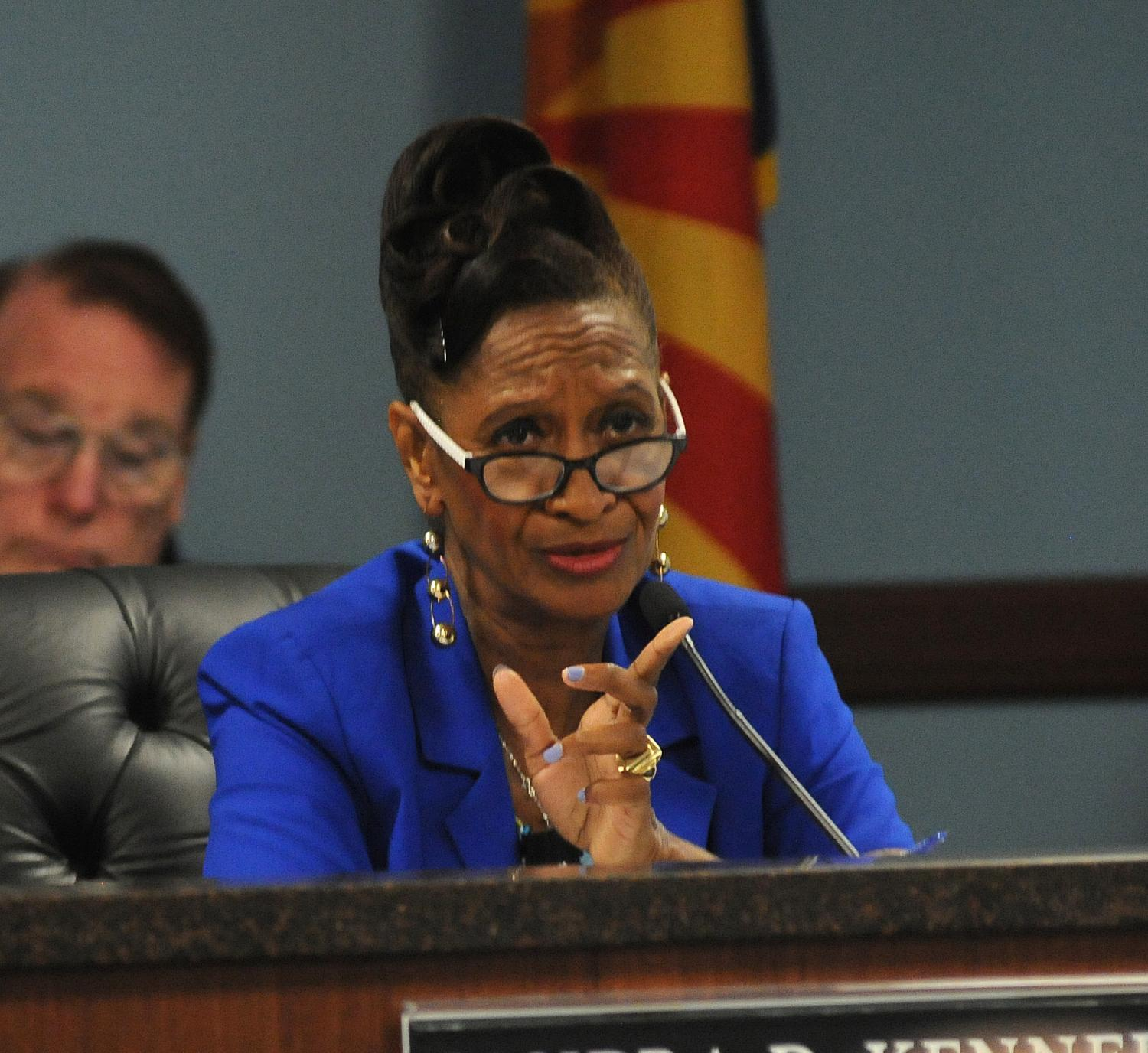 Arizona Corporation Commissioner Sandra Kennedy