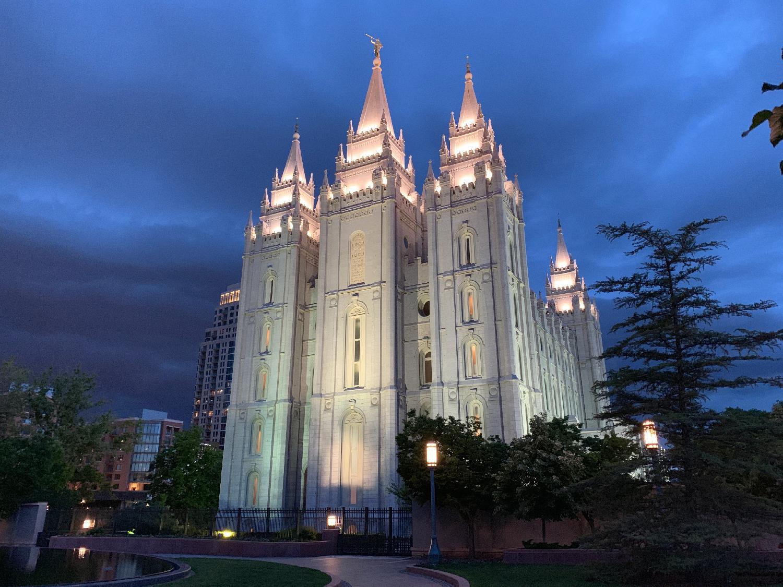 LDS Mormon Temple Salt Lake City