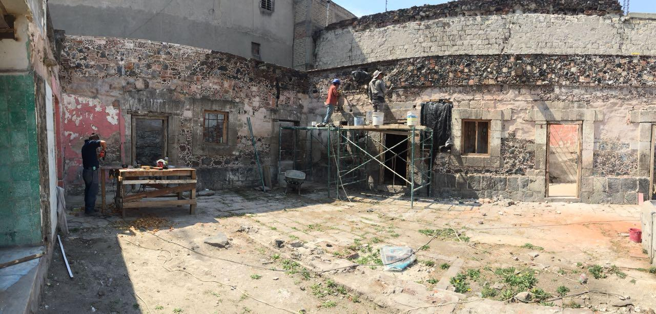 The renovation of Manzanares 25, the only standing home from the 16th century in Mexico City