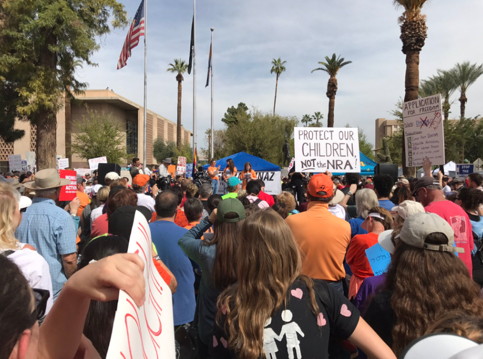 march for our lives rally in phoenix