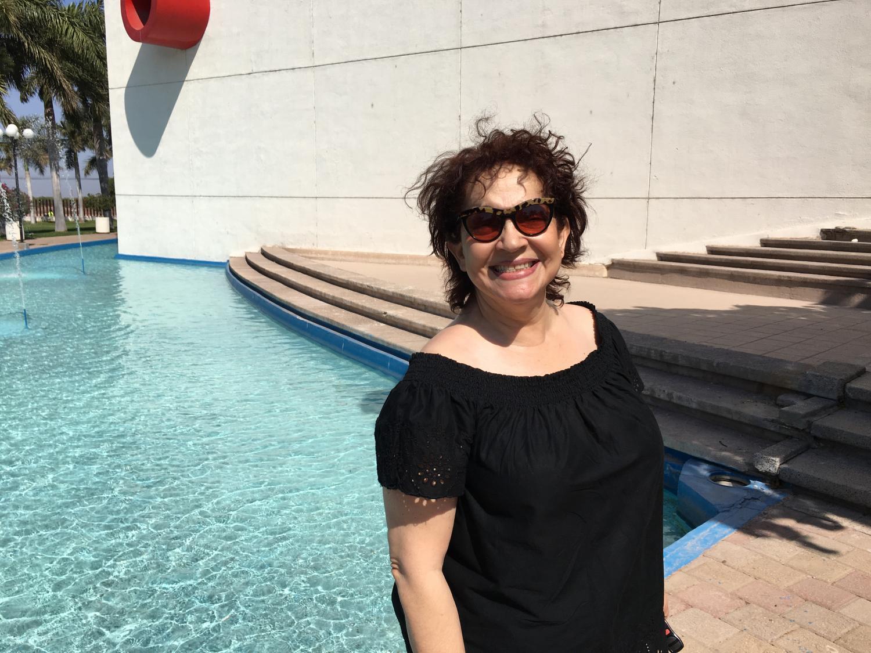 Margarita Artee, a 65-year-old college professor, receives physical therapy at the Universidad La Salle Noroeste in Ciudad Obregón, Sonora