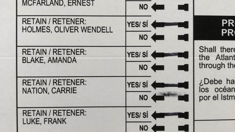 The old Maricopa County ballots