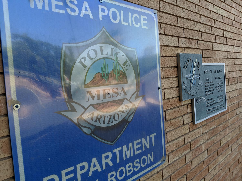 Mesa Police Department headquarters.