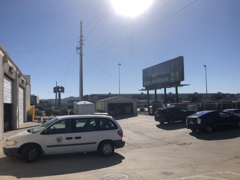 A billboard along Interstate 10 in Phoenix