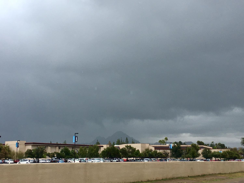 cloud in central Phoenix