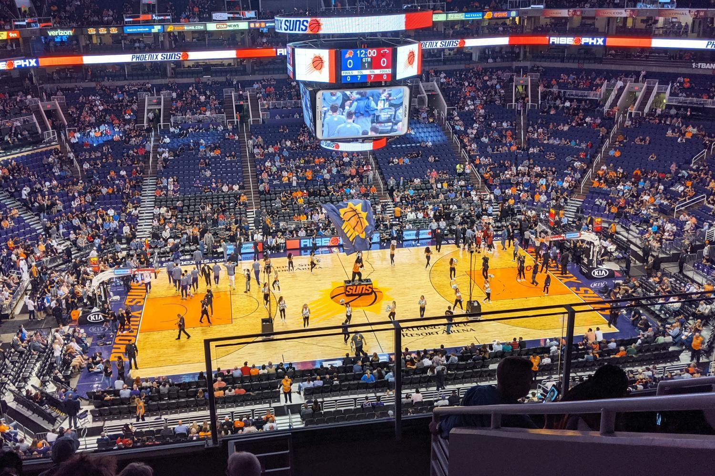 phoenix suns basketball talking stick resort arena