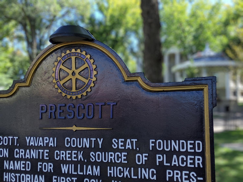 Prescott, Arizona sign