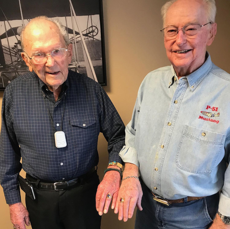 Rex Prisbey and Gene Graham