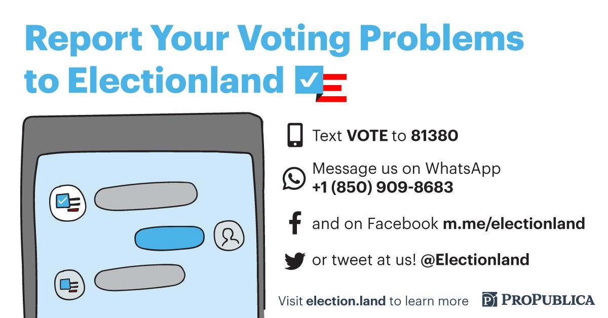 Electionland graphic