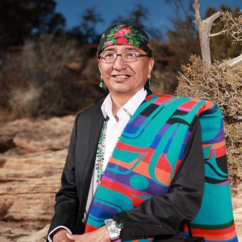 Navajo medicine man Rex Lee Jim