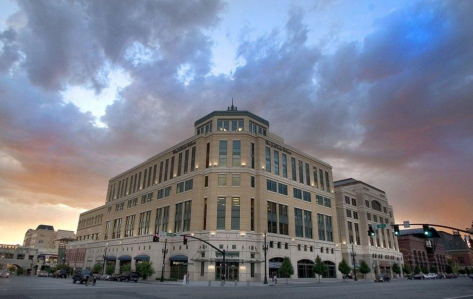 Salt Lake Tribune office