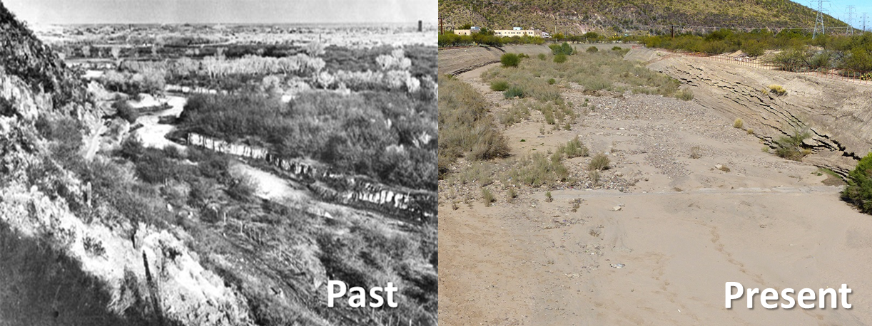santa cruz river past and present