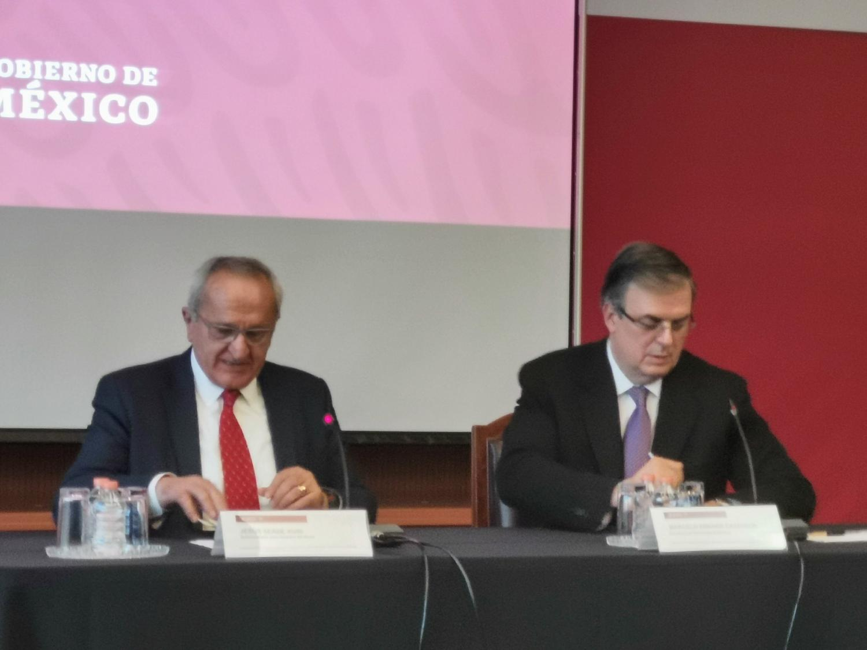Jesús Seade and Marcelo Ebrard