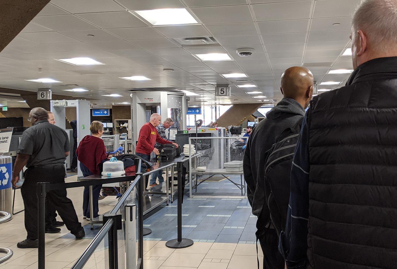 security at Phoenix Sky Harbor International Airport