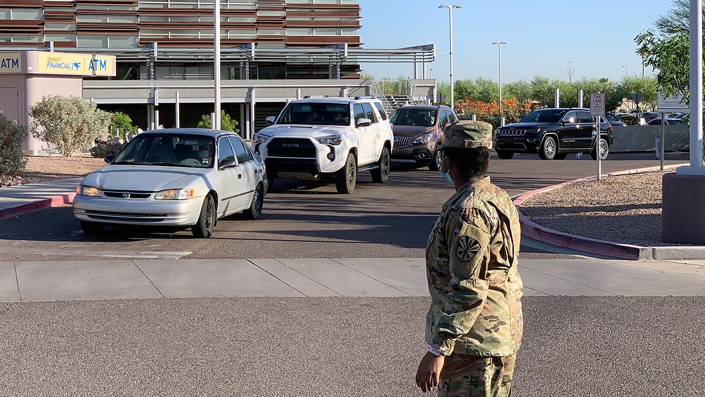 COVID Testing City National Guard