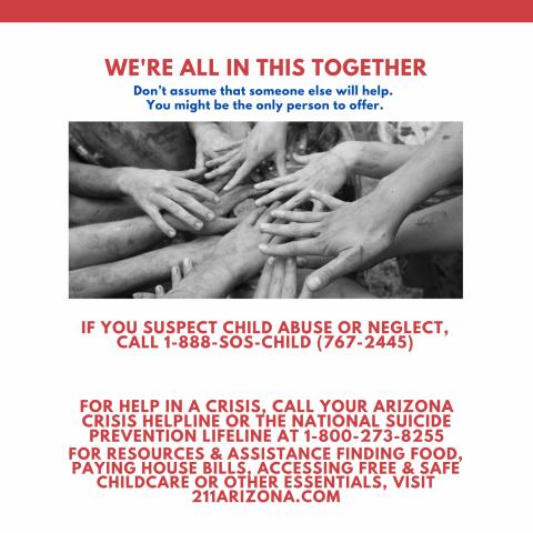 888-SOS-CHILD poster