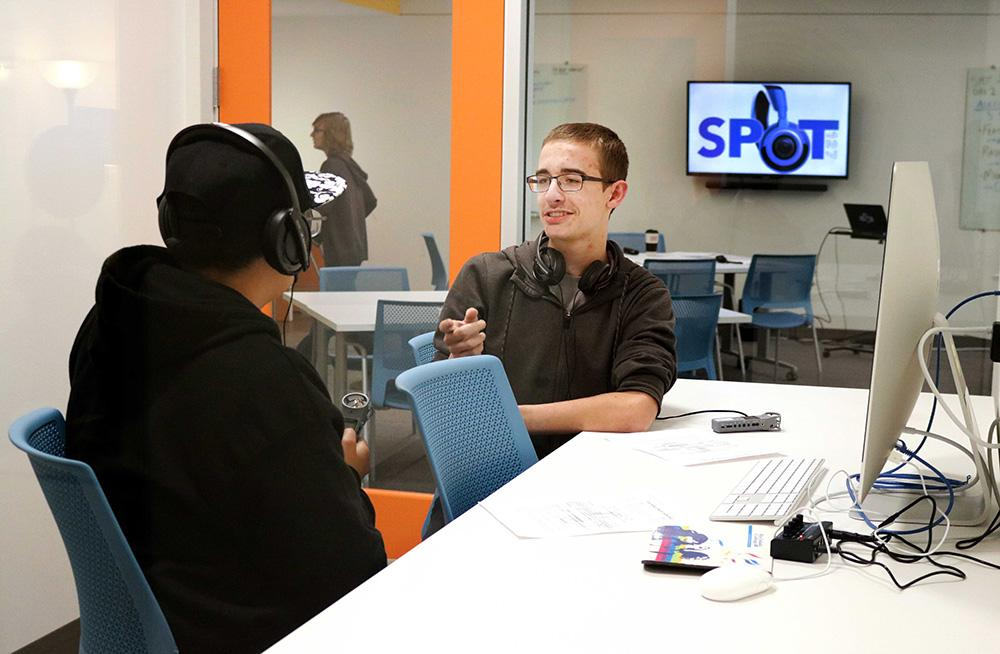 Students at SPORT 127