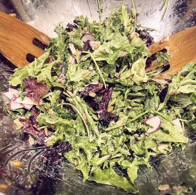 Steadfast Farm salad