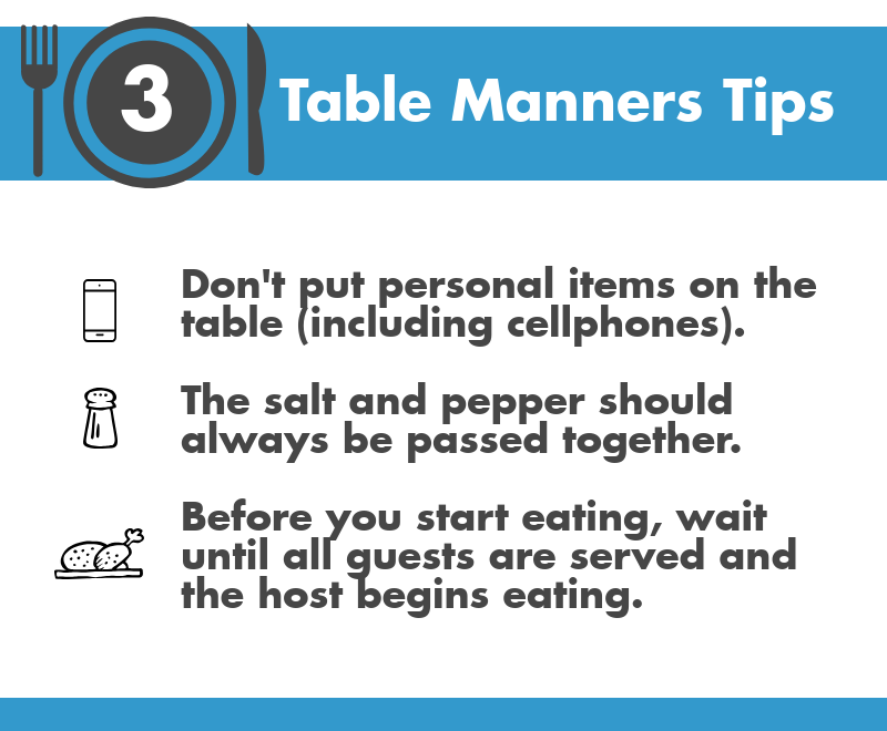 3 table manners tips