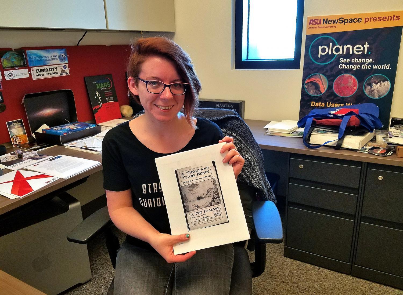 Tanya Harrison in her office