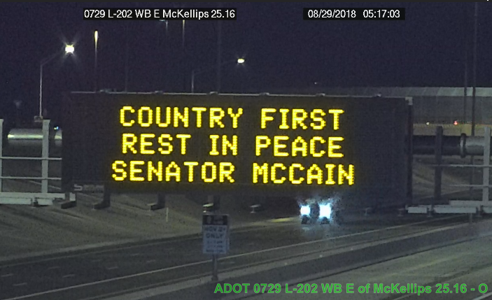 mccain billboard
