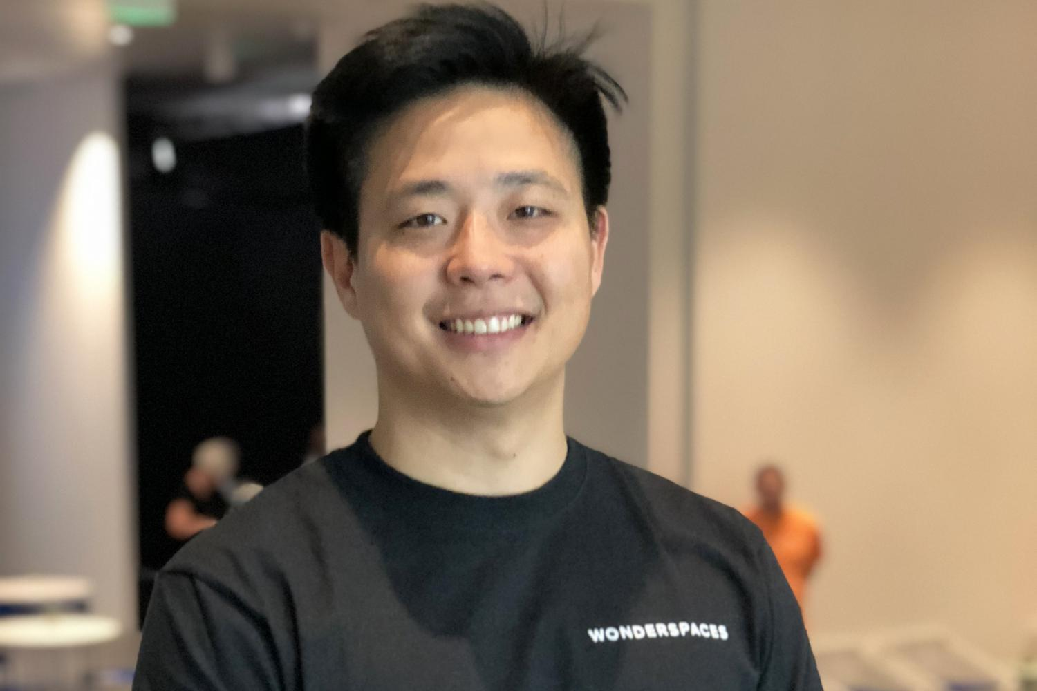 Jason Shin, president of Wonderspaces