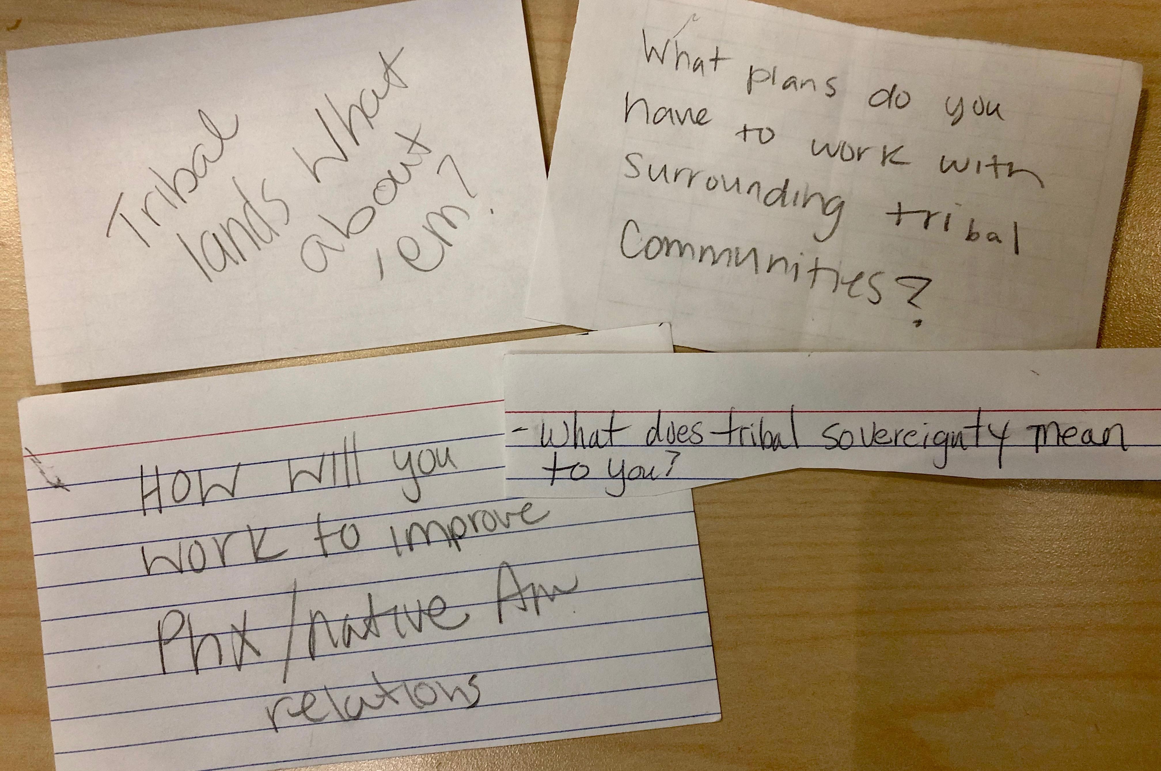 phoenix forum audience questions